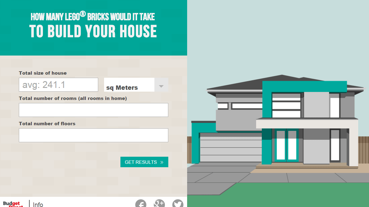 Build your house with lego budget direct blog for Building house blog