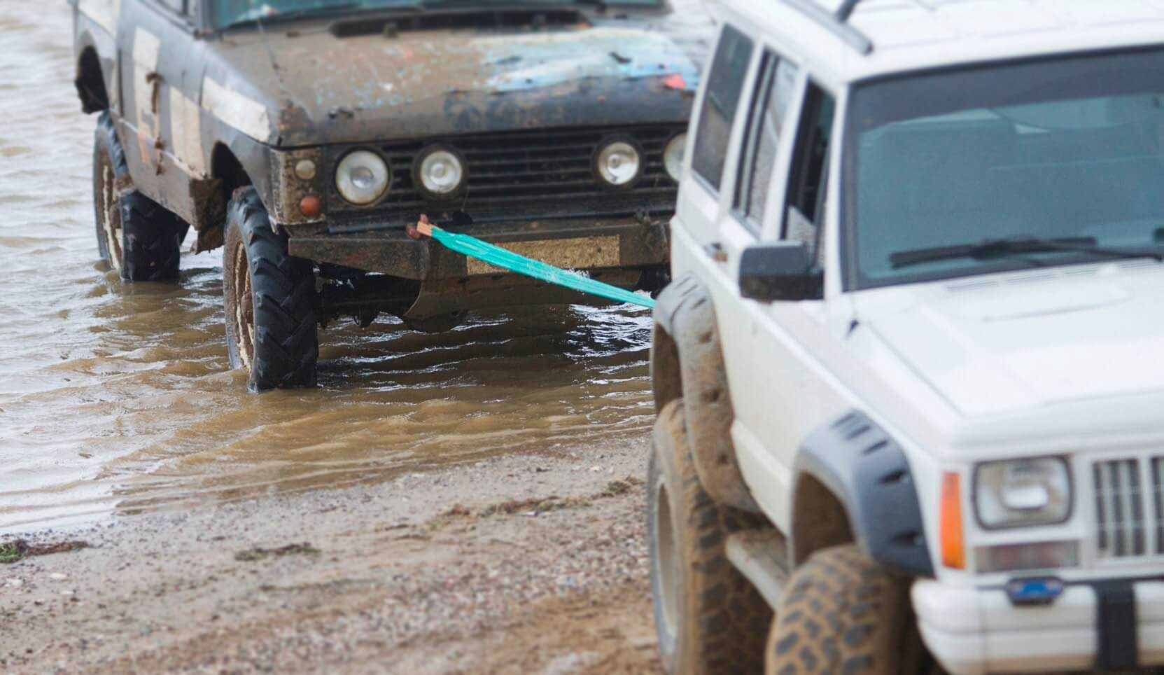 Get Car Unstuck From Mud
