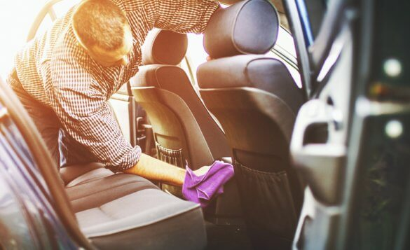 Car maintenance: cleaning