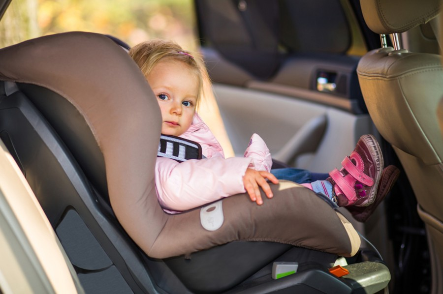 Child In Back Seat