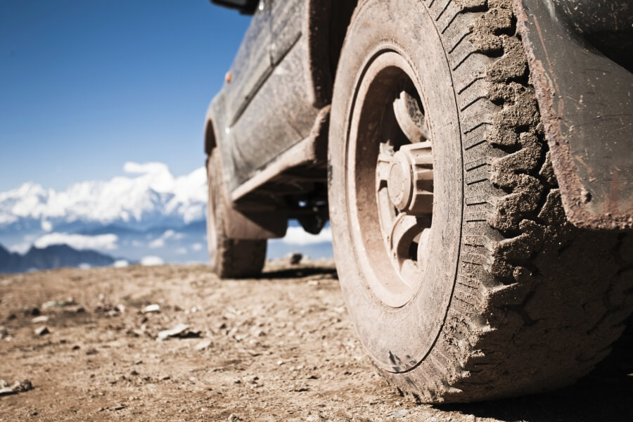 off-road vehicle on mountaintop,kham,sichuan.Thank you download this image,plese click the lightbox to see more similar portfolio: