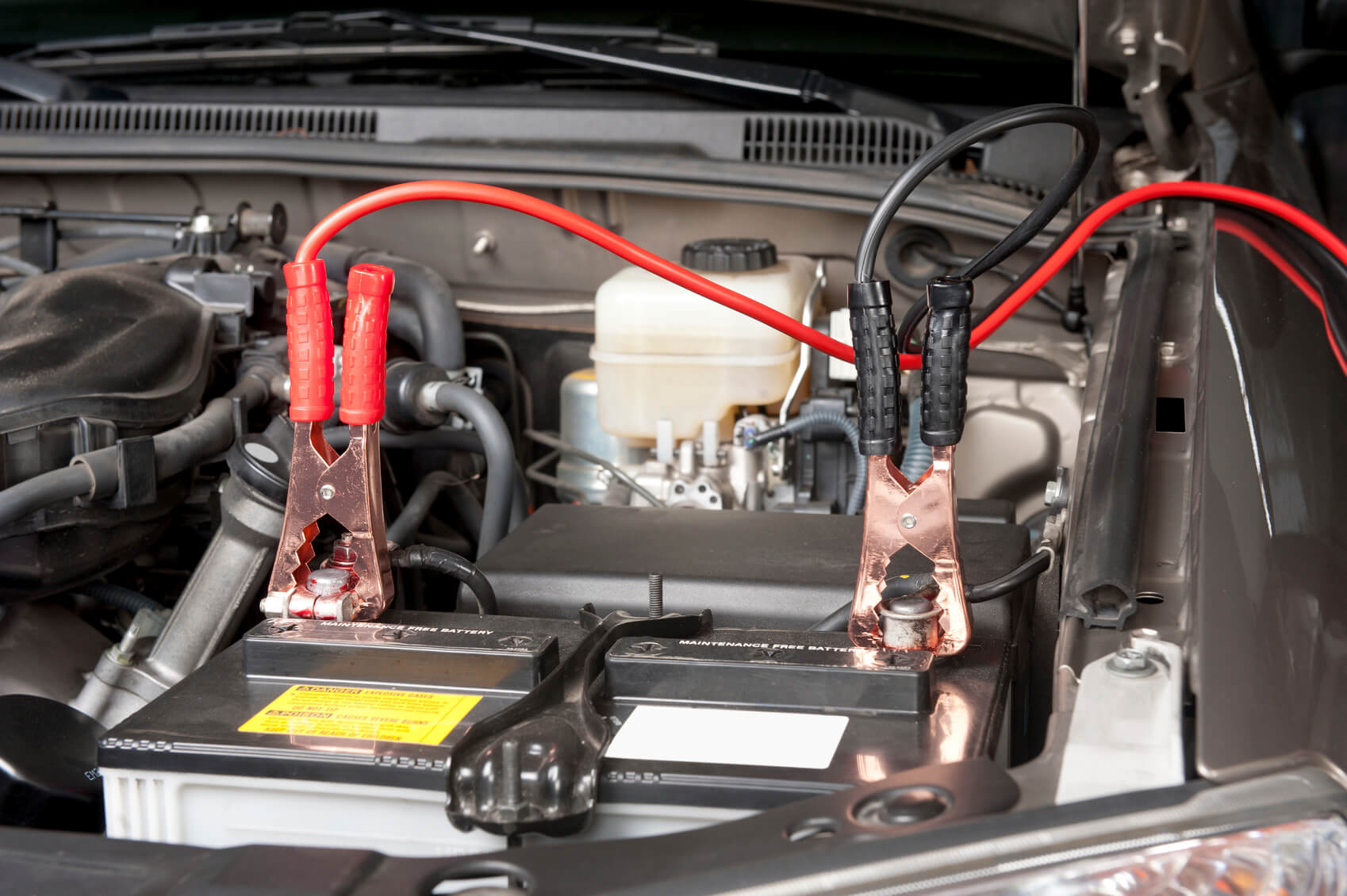 Where is the battery in a car - Automobile Battery Charging