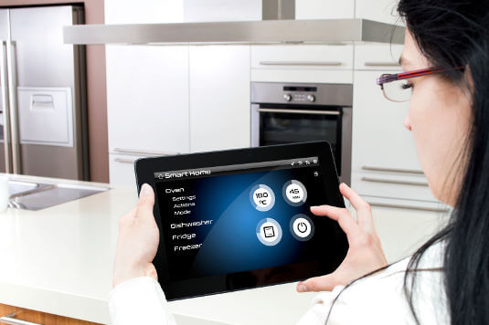 Smart ovens enable you to manage your cooking from anywhere, via your mobile phone.
