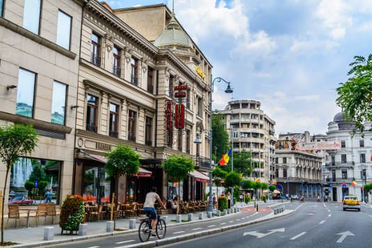 Described as 'the most underrated city in Europe', Bucharest is a mix of the old and the new.