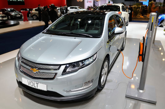 The hybrid Chevrolet Volt went from concept to production car in 2011.