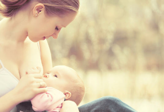 Exclusive breastfeeding during the first four to six months of life appears to protect children against developing allergies.