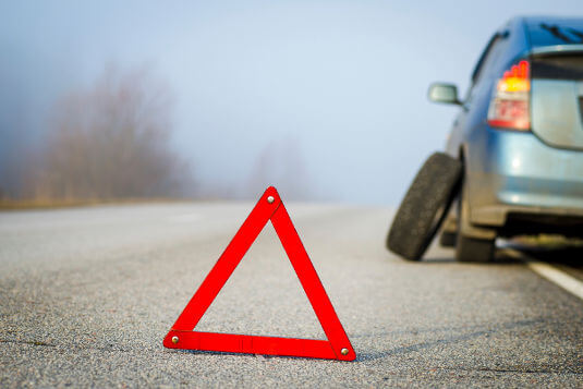 Roadside Assistance typically includes help changing flat tyres.