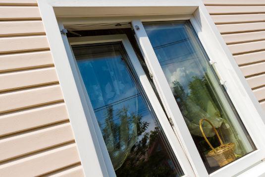 Smart windows selectively block heat and light.