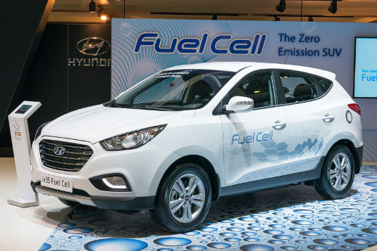 Hydrogen Fuel Cell Vehicle Technology: Past, Present