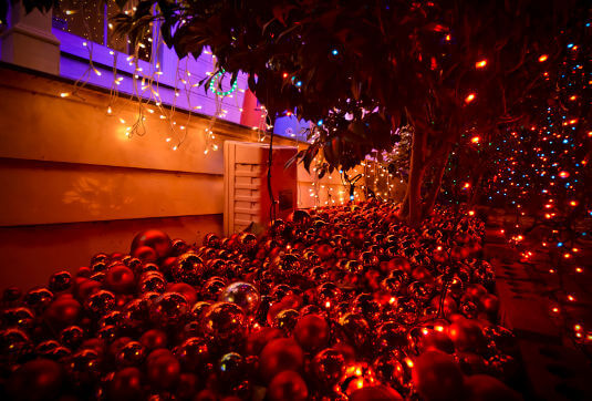 Christmas lights that are faulty or incorrectly installed can cause a house fire.