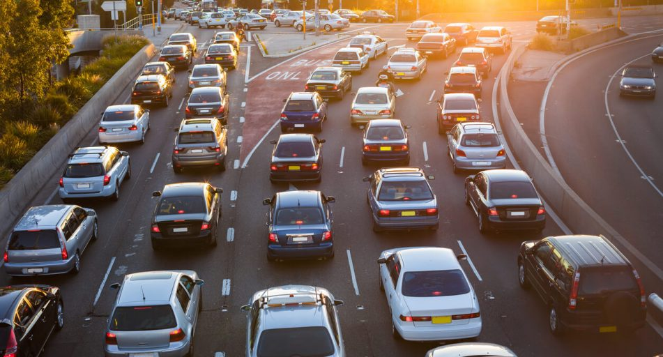 What should you do if your car breaks down on a busy highway