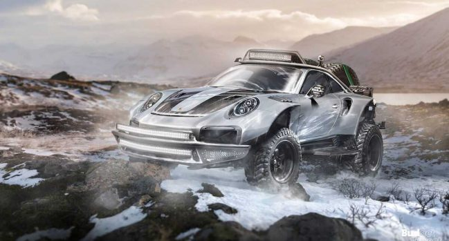 7 sports cars built for off-road