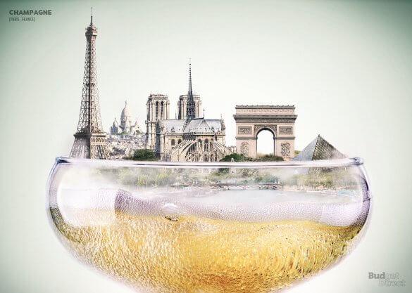 9 city skylines visualised inside their signature drinks