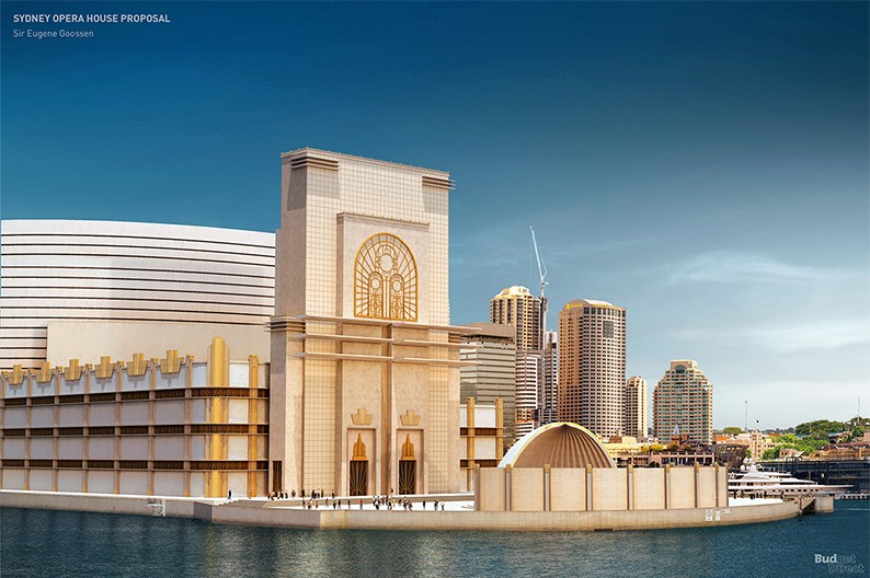What the Sydney Opera House could have looked like ...