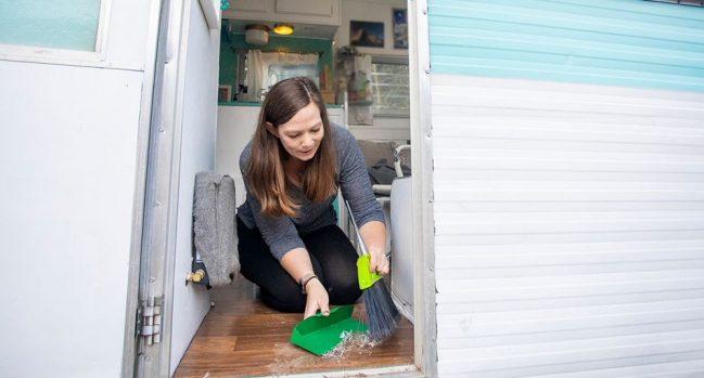 caravan cleaning tips