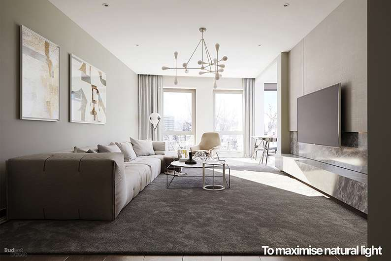 Make Living Room Spacious Using Simple And Smart Tricks Best Interior Design Services And Think Smart With Your Choice Of Drapery. Sheer Curtains Protect Your  Privacy While Spreading Relaxing Soft Light Through A Room. Bliss!