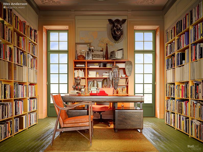Если бы Дэвид Линч был дизайнером интерьеров: Идеи домашних офисов от режиссеров (фото 3)