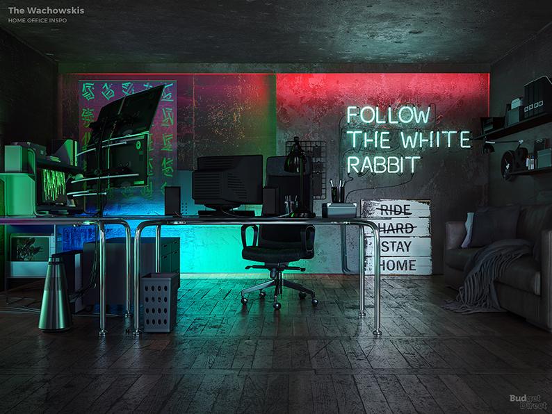 Если бы Дэвид Линч был дизайнером интерьеров: Идеи домашних офисов от режиссеров (фото 1)