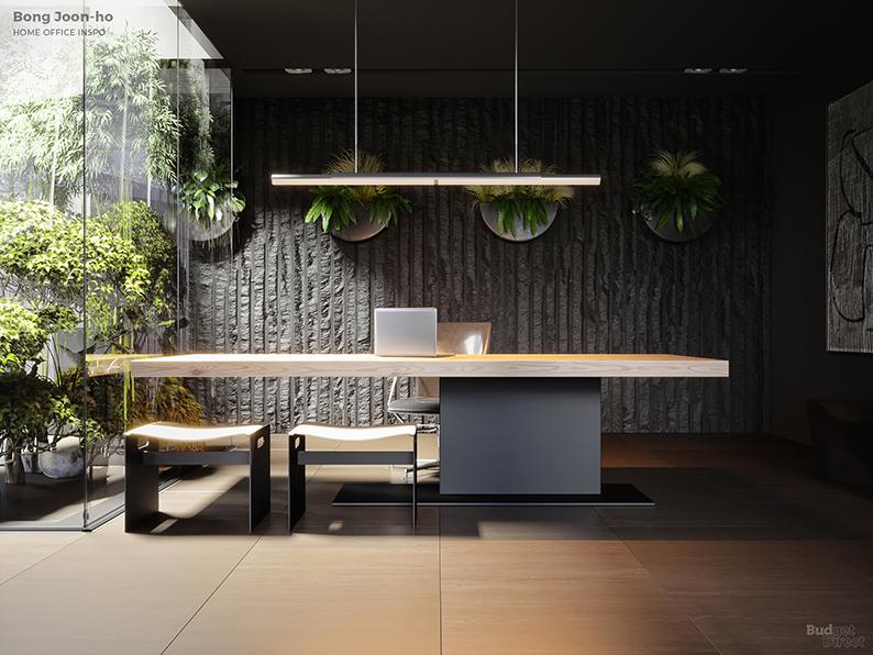 Если бы Дэвид Линч был дизайнером интерьеров: Идеи домашних офисов от режиссеров (фото 4)