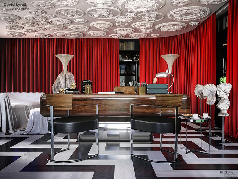 Если бы Дэвид Линч был дизайнером интерьеров: Идеи домашних офисов от режиссеров (фото 5)