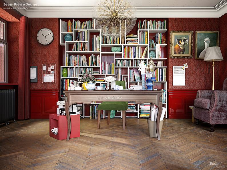 Если бы Дэвид Линч был дизайнером интерьеров: Идеи домашних офисов от режиссеров (фото 7)
