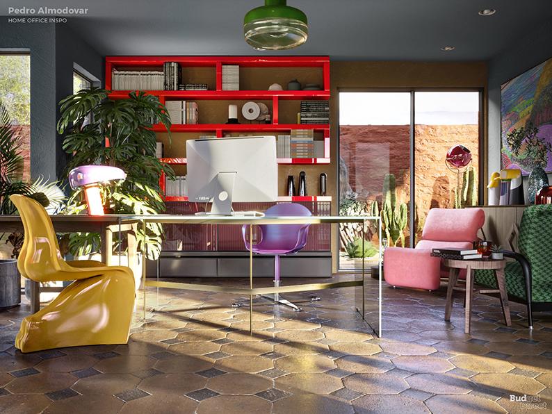 Если бы Дэвид Линч был дизайнером интерьеров: Идеи домашних офисов от режиссеров (фото 6)