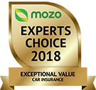 MOZO's Experts Choice 2018 - Exceptional Value Car Insurance