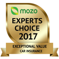 MOZO's Experts Choice 2017 - Exceptional Value Car Insurance