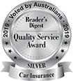 Reader's Digest - Quality Service Award 2019 - Silver