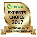 MOZO's Experts Choice 2017 - Exceptional Value Home and Contents Insurance