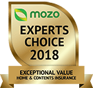 MOZO's Experts Choice 2018 - Exceptional Value Home and Contents Insurance