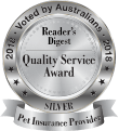 Reader's Digest - Quality Service Award 2018 - Silver