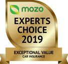 MOZO's Expert's Choice 2019 - Exceptional Value Car Insurance