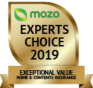 MOZO's Expert's Choice 2019 - Exceptional Value Home and Contents Insurance