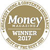 Winner of Money Magazine's Cheapest Home and Contents Insurance 2017