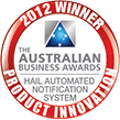 Australian Business Awards - Most Innovative Product Budget Directs Hail Hero 2012