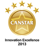 Canstar - Innovation Excellence for Budget Directs Hail Hero Warning System 2013