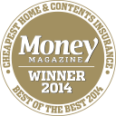 Money Magazine Cheapest Home & Contents Insurance 2014