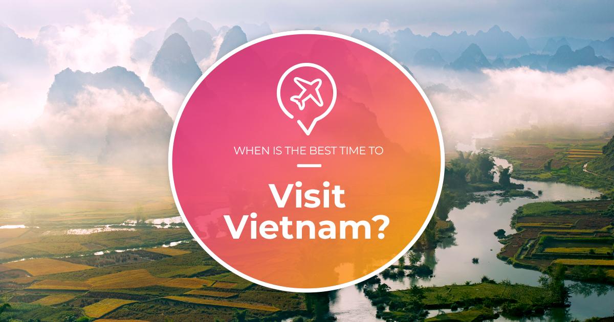 Best time to visit Vietnam? (Cheap flights hotels & activities!) 👋🛫🍹