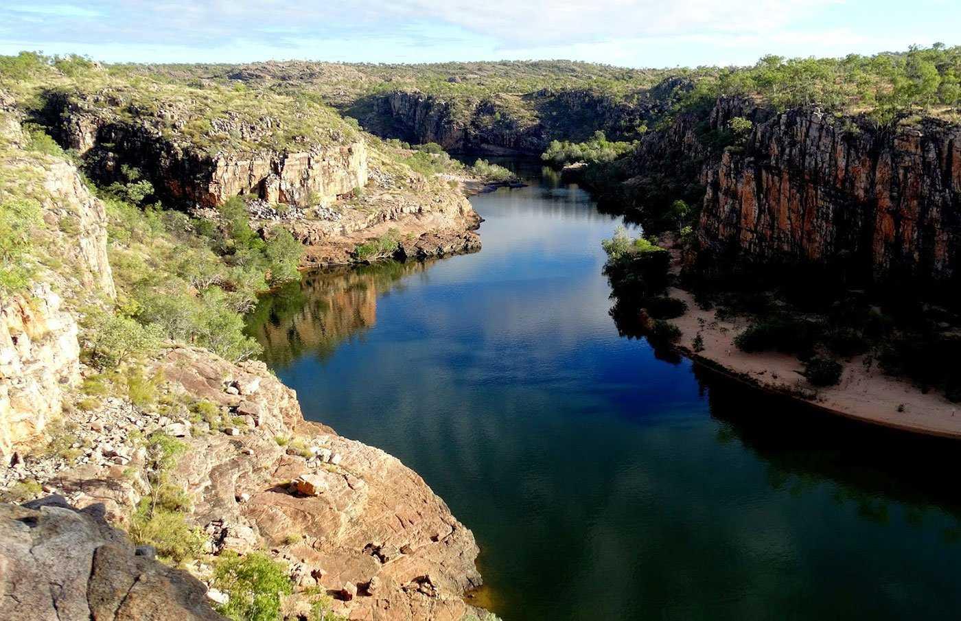 The Nitmiluk Gorge Travel The World Without Leaving Australia